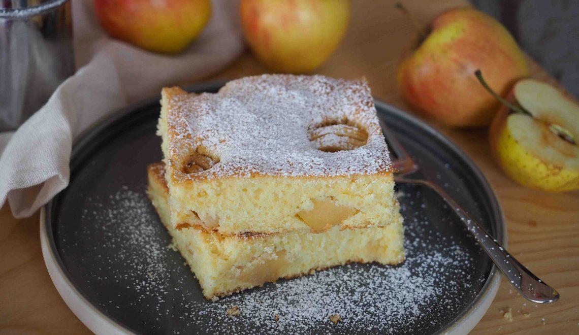 Rezept I Apfelkuchen vom Blech