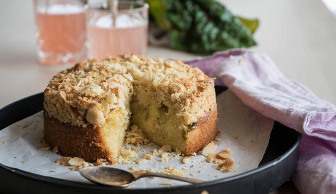 Rezept I Rhabarberkuchen mit Streusel
