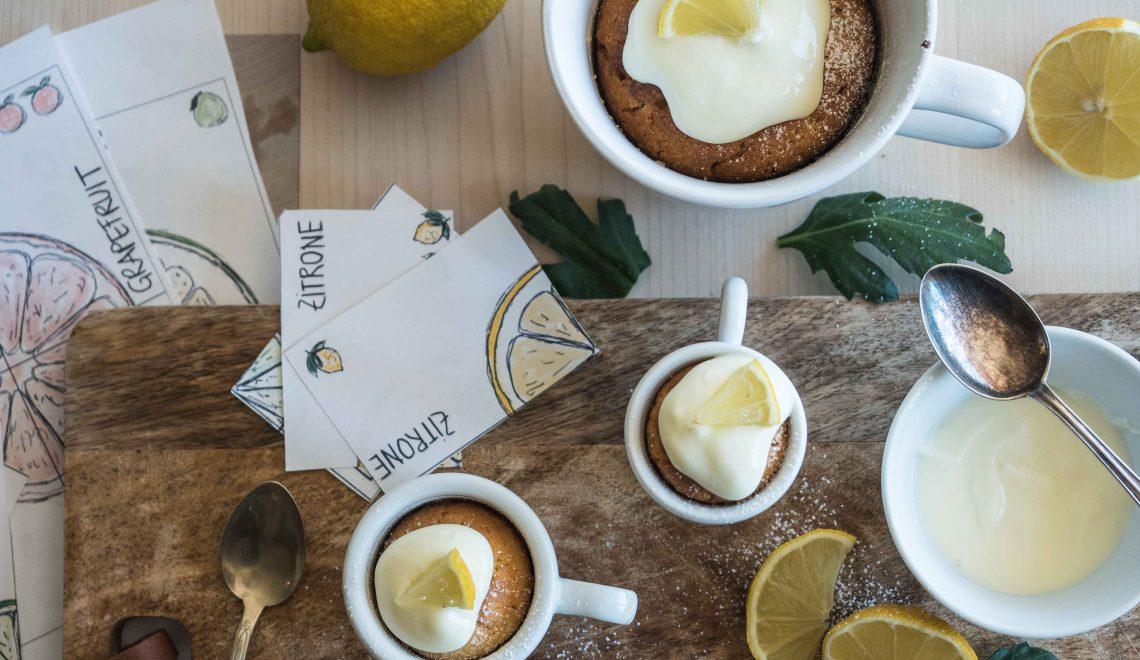 Rezept I Zitronenkuchen in der Tasse