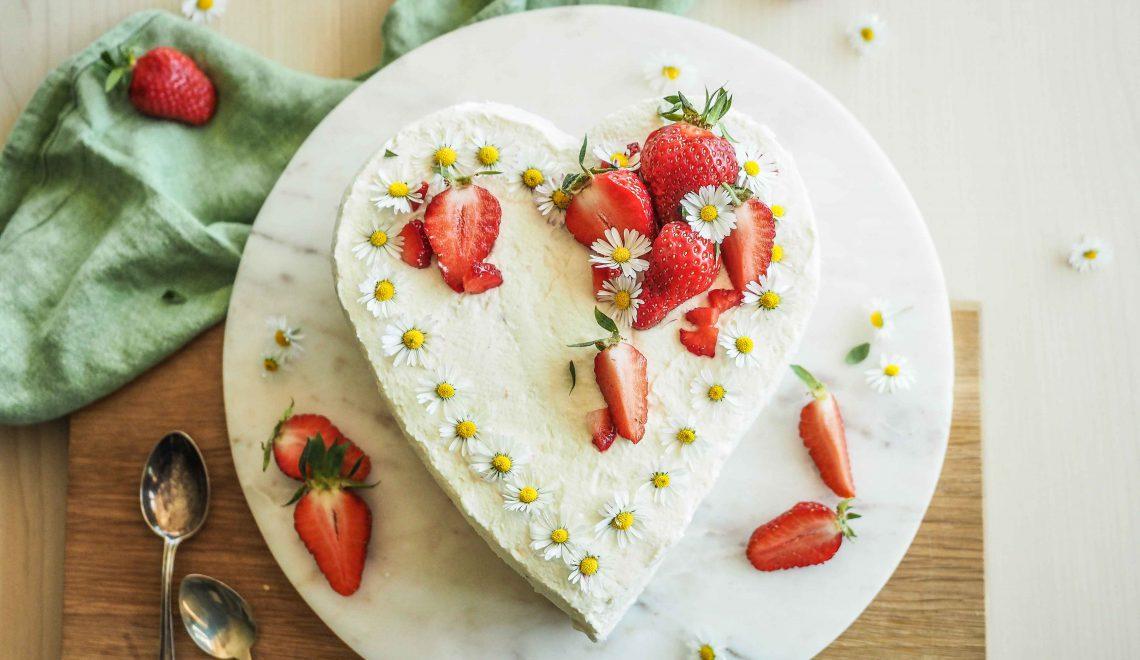 Rezept I Muttertagsherz mit Joghurt