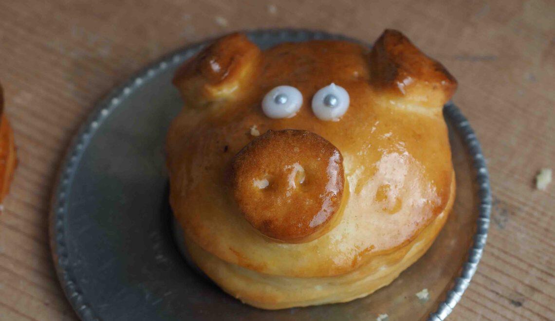 Rezept I Glücksschweinchen und Neujahrsbrezeln