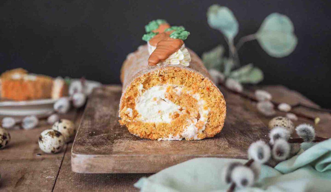 Rezept I Karotten Bisquitrolle