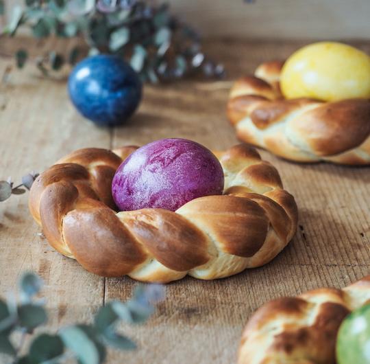Rezept I Osterkränzchen aus Hefe
